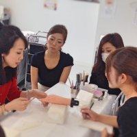 ネイルサロン技術講習・新人スタッフ研修行いました。