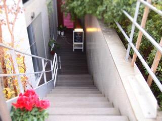 サロン階段ビオネイル