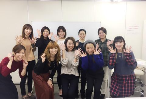 【サロン経営特別授業@埼玉】ネイル専門学校にてサロン経営特別授業