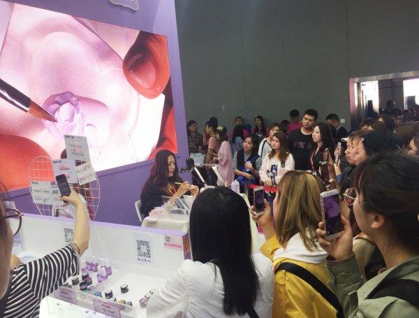海外中国美容展示会ネイル